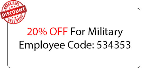 Military Employee 20% OFF - Locksmith at Detroit, MI - Locksmith MI Detroit
