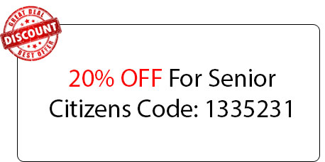 Senior Citizens 20% OFF - Locksmith at Detroit, MI - Locksmith MI Detroit